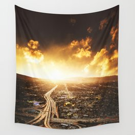 highway in los angeles Wall Tapestry