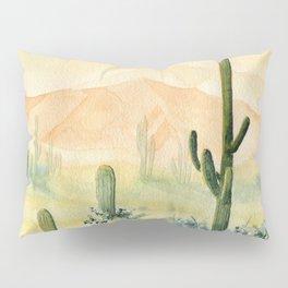 Desert Sunset Landscape Pillow Sham