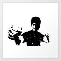 fist of fury Art Print