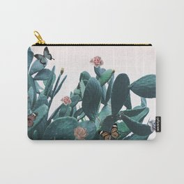 Cactus & Flowers - Follow your butterflies Carry-All Pouch