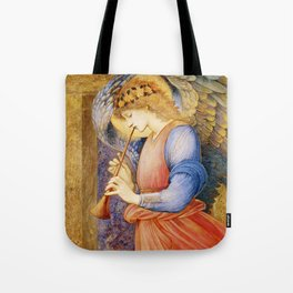 Angel Gabriel Antique Spiritual art Tote Bag