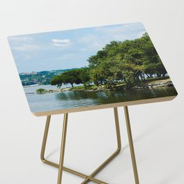 Summer on the Hudson Side Table