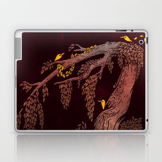 Tree Birds Laptop & iPad Skin