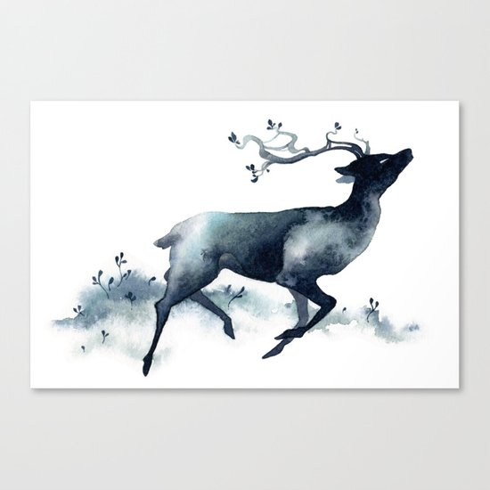 Plains Spirit Canvas Print