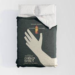 Quién sabe? Movie poster with Klaus Kinski, Gian Maria Volonté, Lou Castel, by Damiano Damiani Comforters