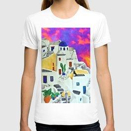 Greek Island Sunset T-shirt