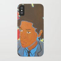 basquiat iPhone & iPod Cases featuring Basquiat by Justice Dwight