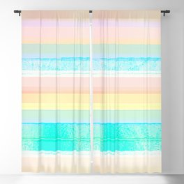 Faded Vintage Color Blackout Curtain