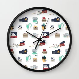 Contain Yourself -- Pattern Wall Clock