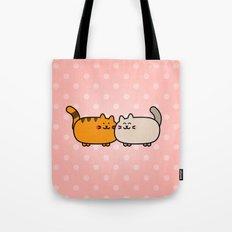 Romantic Cats Tote Bag
