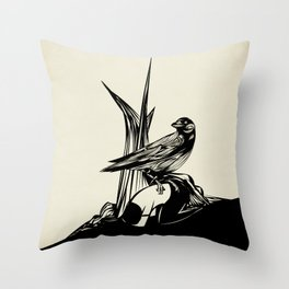 Crows must never win Throw Pillow