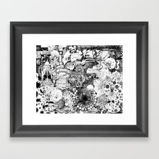 Death of A Pirate Framed Art Print