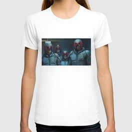 Currupt Judges from Judge Dredd T-shirt