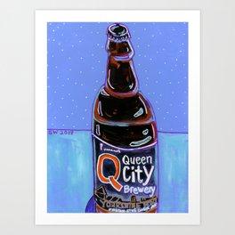 Queen City - Yorkshire Porter Art Print
