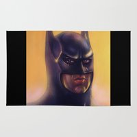 bats Area & Throw Rugs featuring Bats by Jason Wright