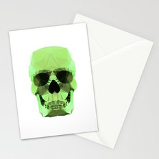 Polygon Heroes - Emerald Skull Stationery Cards
