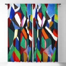 Patrick Henry Bruce Composition II Blackout Curtain