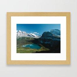 Grinnell Lake Framed Art Print
