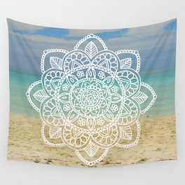 Beach Mandala Wall Tapestry