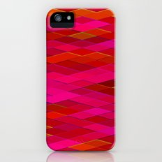Re-Created Vertices No. 26 by Robert S. Lee Slim Case iPhone (5, 5s)