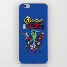 Avenger Time iPhone & iPod Skin