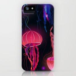 Pink Jellyfish iPhone Case