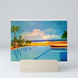 Sri lanka resort Mini Art Print