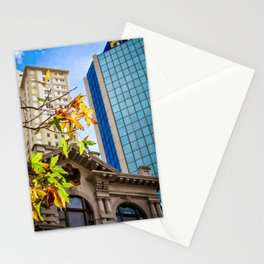 Auckland City in Autumn. Stationery Cards