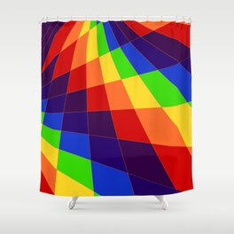 "ROY G Biv - ""Another Look"" Shower Curtain"