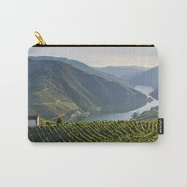 Vineyards and a chapel in the Douro Valley, Portugal Carry-All Pouch