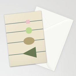 beading || april grass Stationery Cards