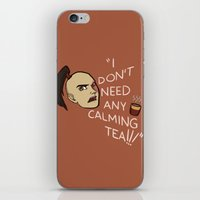 zuko iPhone & iPod Skins featuring Calming Tea by Allicyn's Art