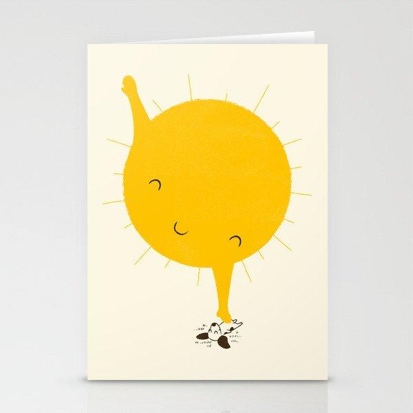 Belly Rub Stationery Cards