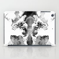 watchmen iPad Cases featuring Rorschach by Robert Farkas