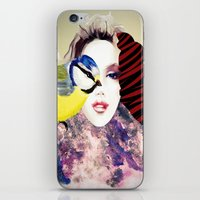 no face iPhone & iPod Skins featuring Face by Cs025