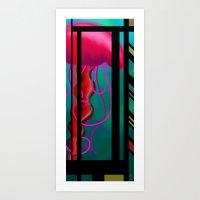 eloi:  jellyfish Art Print