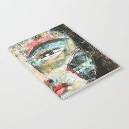 Oriental Face Art Notebook