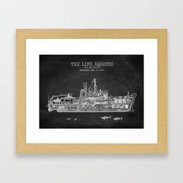 The Belafonte Patent Print Framed Art Print