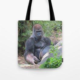Gorilla Says Tote Bag