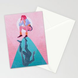 Fallen Into The Hypothetical Well Stationery Cards
