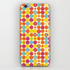 Funny Polkas-Yellow and orange iPhone & iPod Skin