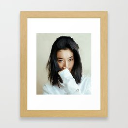 """""""lily"""" Framed Art Print"""