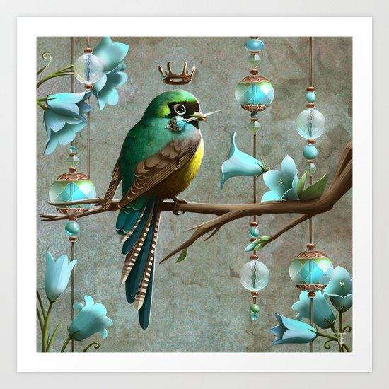Crown Jewels Art Print