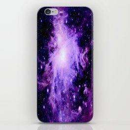Orion nebUla. : Purple Galaxy iPhone Skin