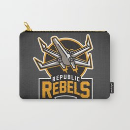 Republic Rebels - Black Carry-All Pouch