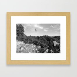 Absurde Framed Art Print