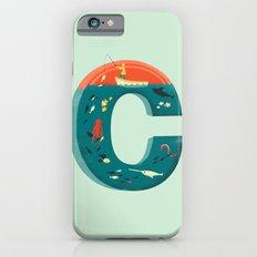 Plenty of Fish in the C  (blue) Slim Case iPhone 6