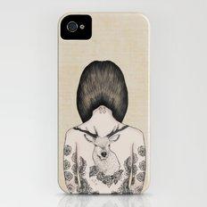 something flowery  Slim Case iPhone (4, 4s)