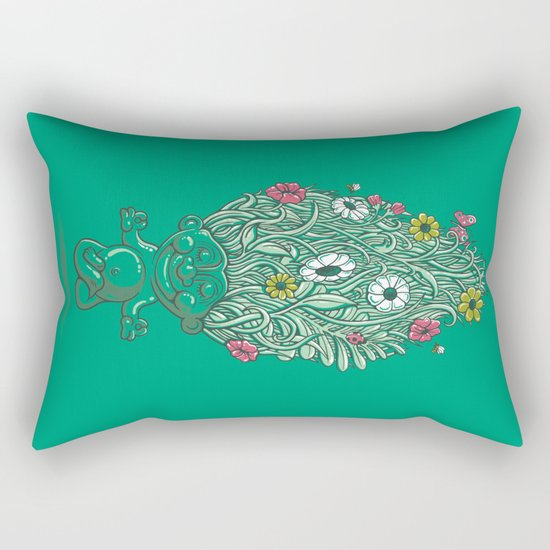 Troll of Nature Rectangular Pillow
