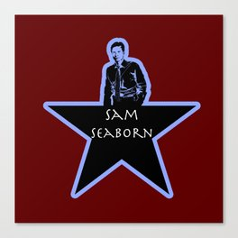 Sam Seaborn (Star)  Canvas Print